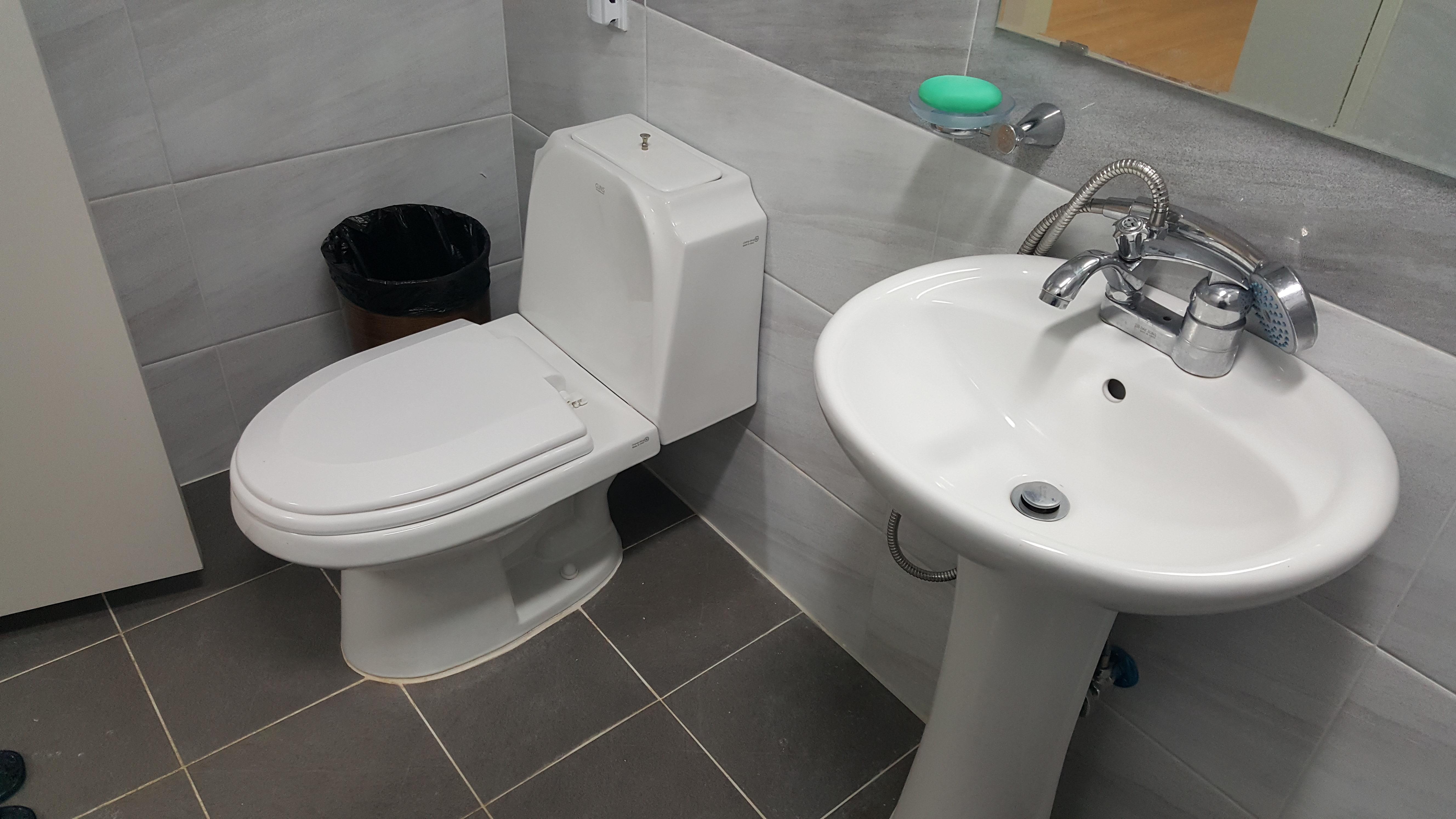 벗나무관 화장실