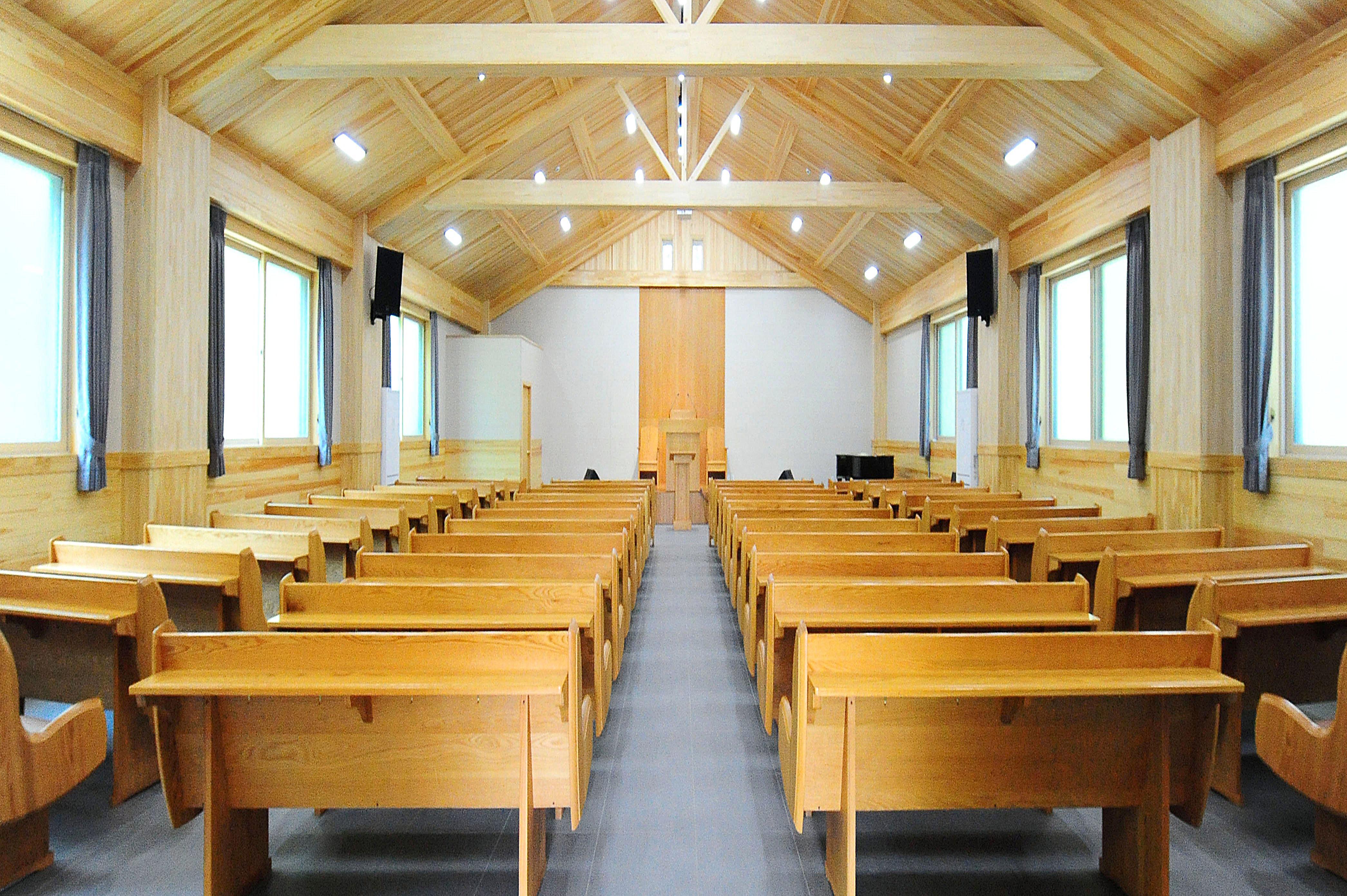 벚나무관 2층 예배실