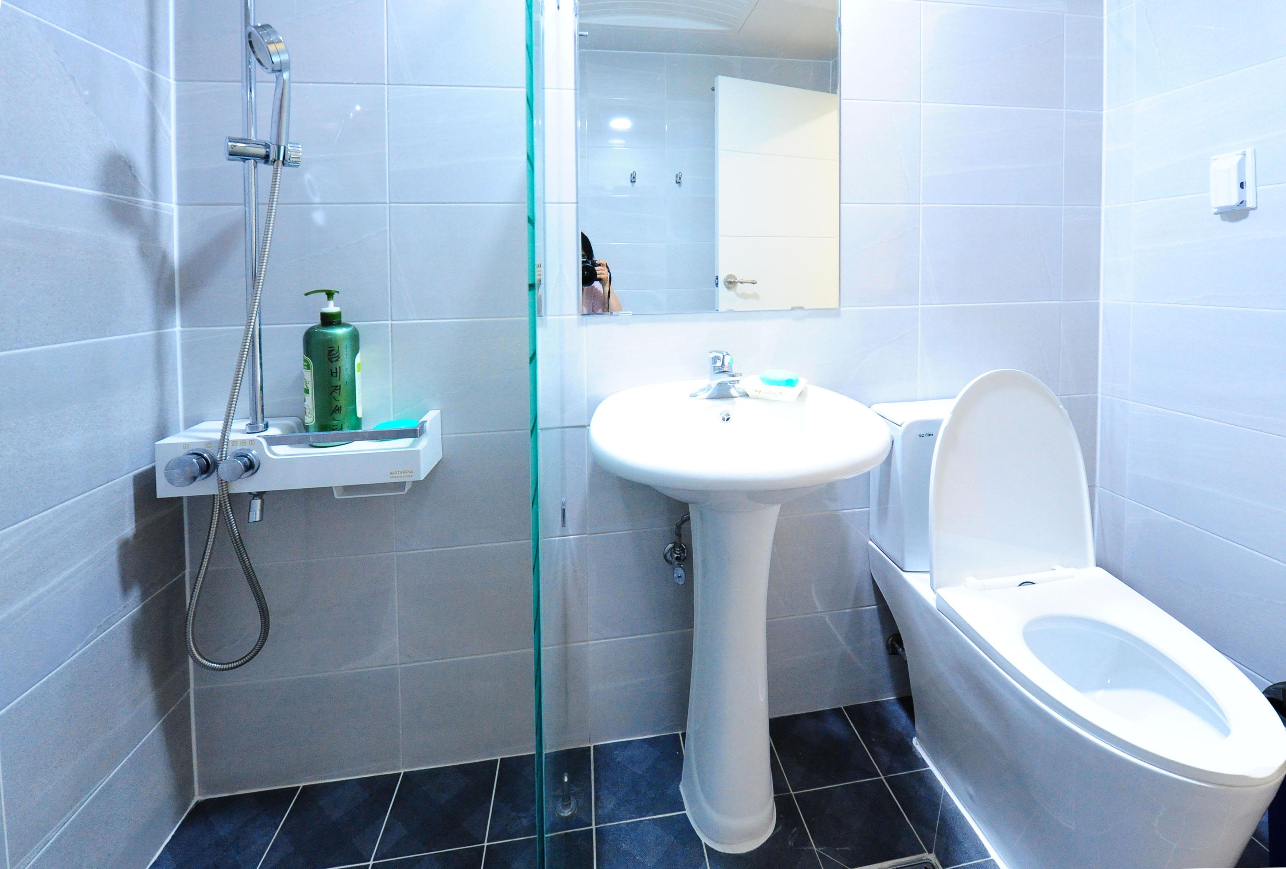 4층 각방 화장실&샤워실